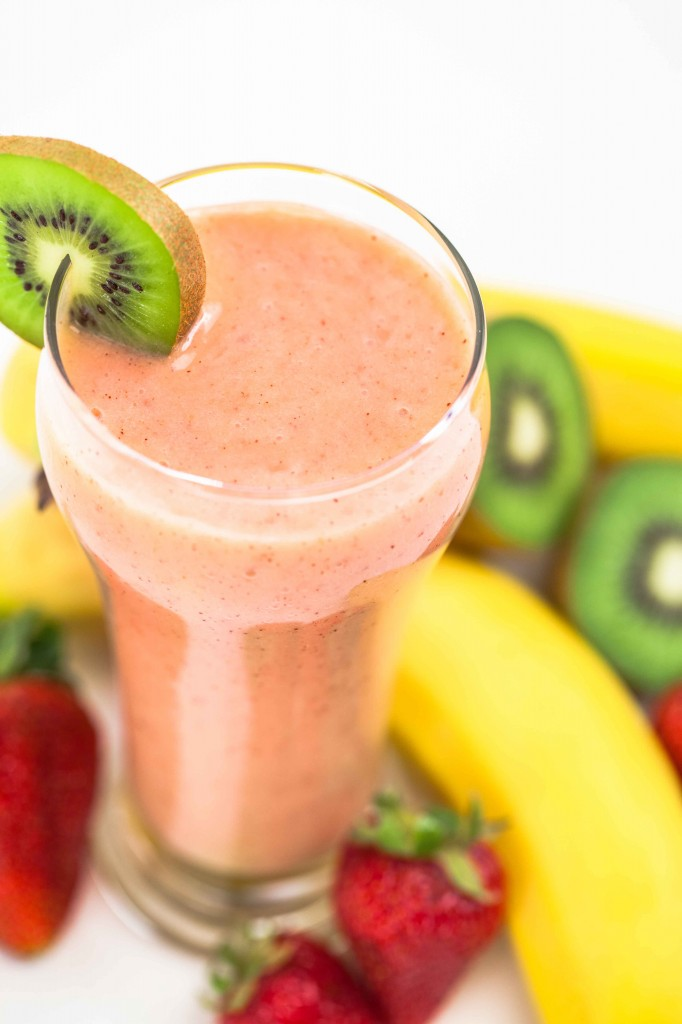 Strawberry Kiwi Smoothie Recipes — Dishmaps