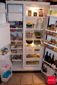 Smoothie ready fridge