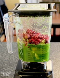 all green smoothie ingredient in blendtec