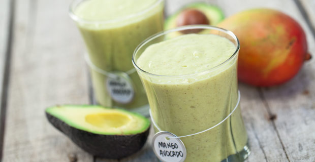 Mango-Avocado Smoothie