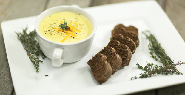 Taco Creamy Corn Soup