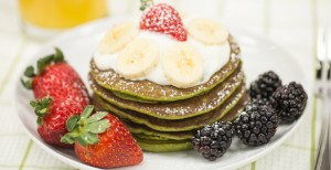 Green Smoothie pancakes_howto